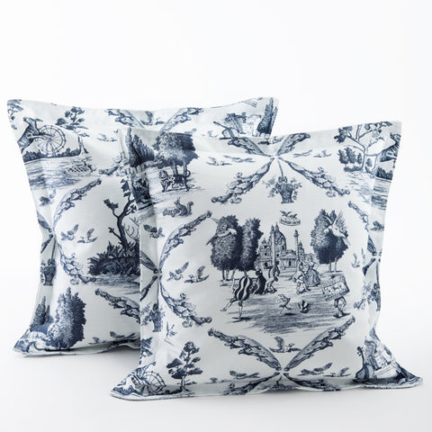 Toile de Vienne Pillow Cover