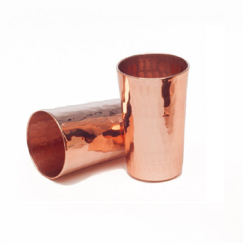 Pure Copper Salute Tumbler