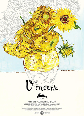 Vincent Van Gogh: Artists' Coloring Book