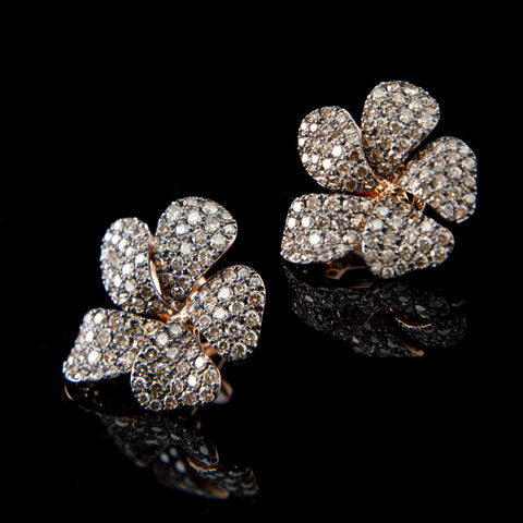A. E. Köchert Petal Earrings