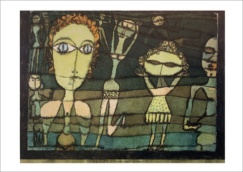 Paul Klee: On the Lawn [Postcard]