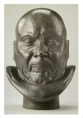 Franz Xaver Messerschmidt: Afflicted with Constipation [Postcard]