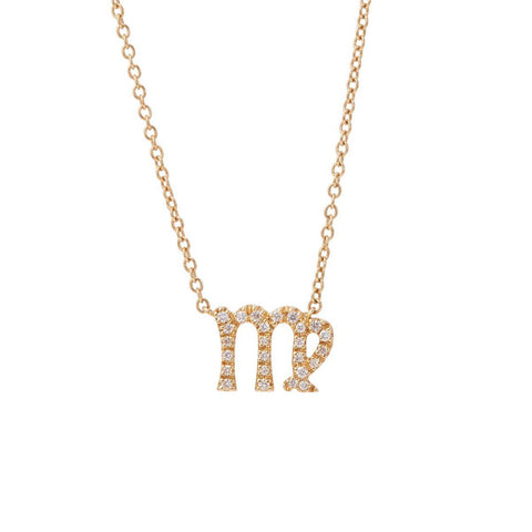 Zodiac Necklace, Virgo