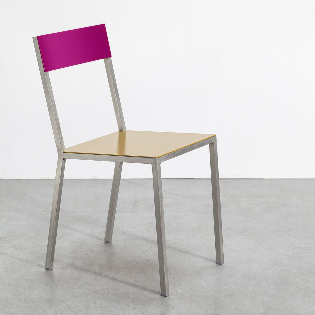 Alu Chair / Curry & Candy Purple