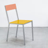 Alu Chair / Yellow Pink