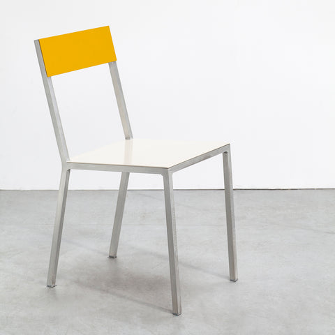 Alu Chair / Ivory Yellow