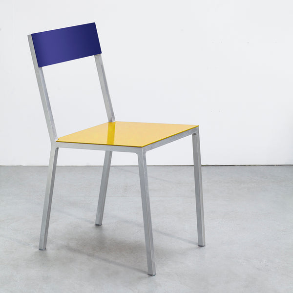 Alu Chair / Yellow Blue