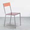 Alu Chair / Burgundy Pink