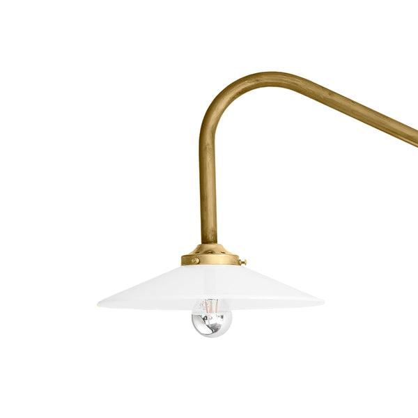 Hanging lamp n°1 / Brass