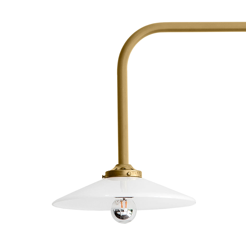 Hanging lamp n°5 / Brass