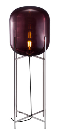 Oda Big / Aubergine - Chrome