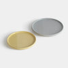 Sediment plates / Grey & yellow