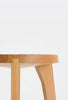 Dovetail Stool 4 Legs / Oak