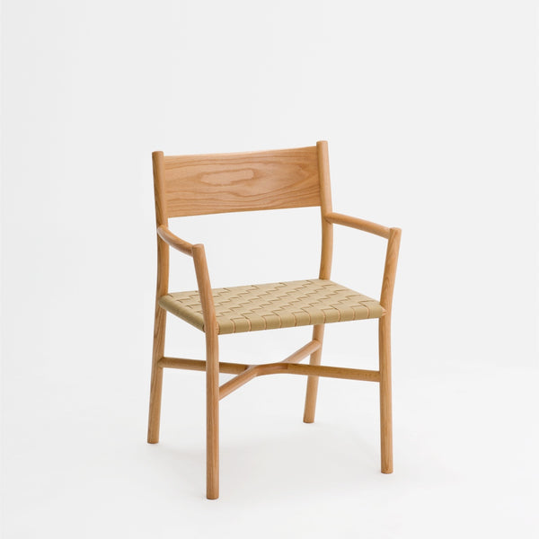 Ariake Arm Chair / Oak - Textile Strap