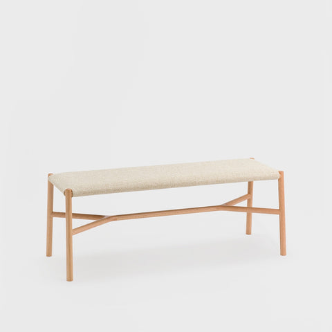 Ariake Bench / Fabric Cushion