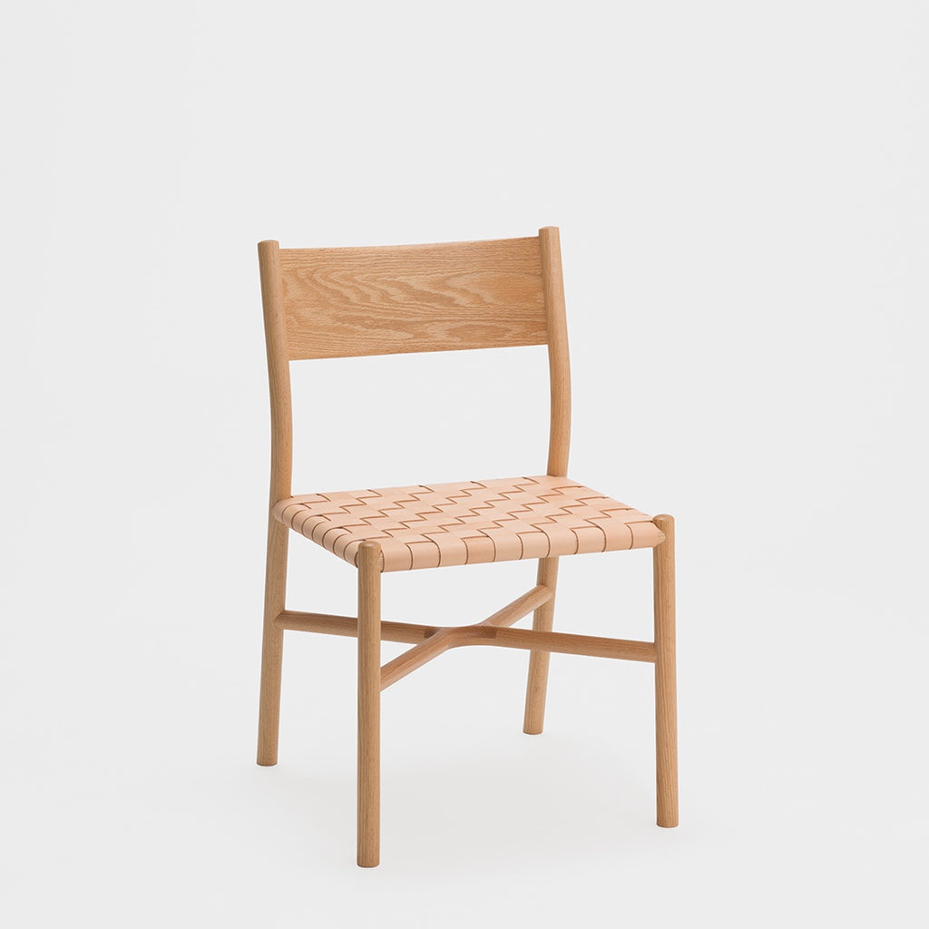 Ariake Chair / Oak - Leather Strap