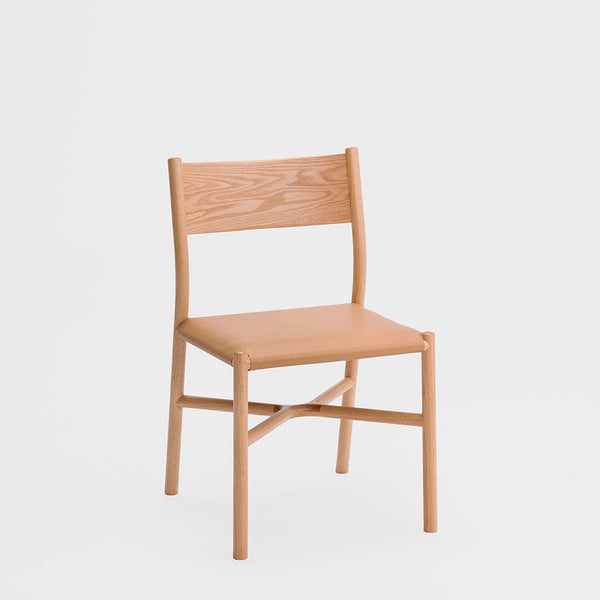 Ariake Chair / Oak - Leather Cushion