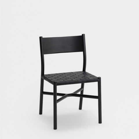 Ariake Chair / Sumi Ash - Leather Strap