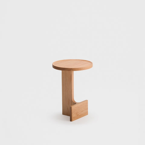 Beam Side Table / Oak