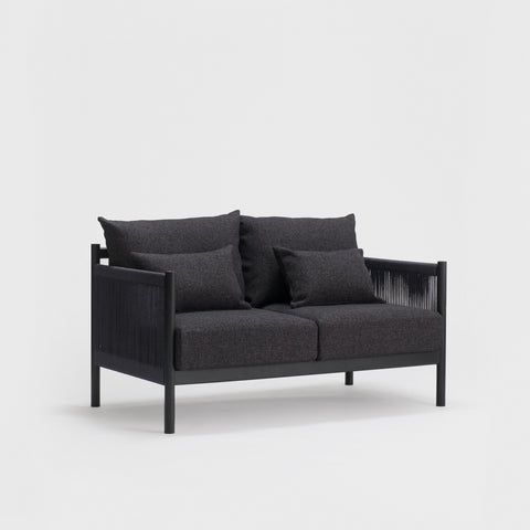 Braid Sofa 2 Seat / Sumi Ash