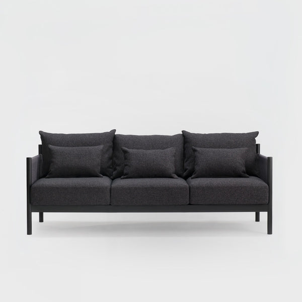 Braid Sofa 3 Seater / Sumi Ash