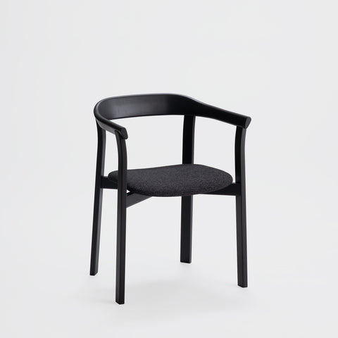 Holm Chair / Sumi Ash - Fabric Cushion
