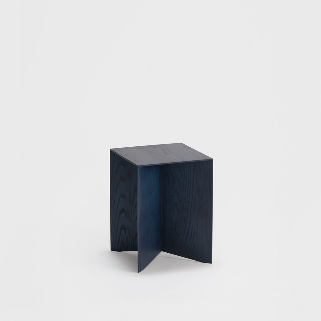 Paperwood Side Table / Indigo Ash
