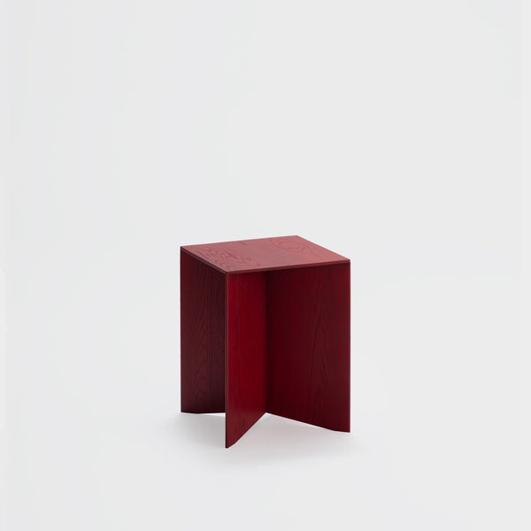 Paperwood Side Table / Red Ash