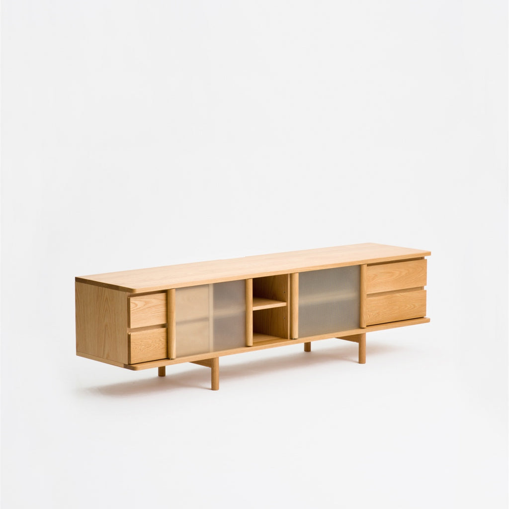 Rikyu TV Console / Oak