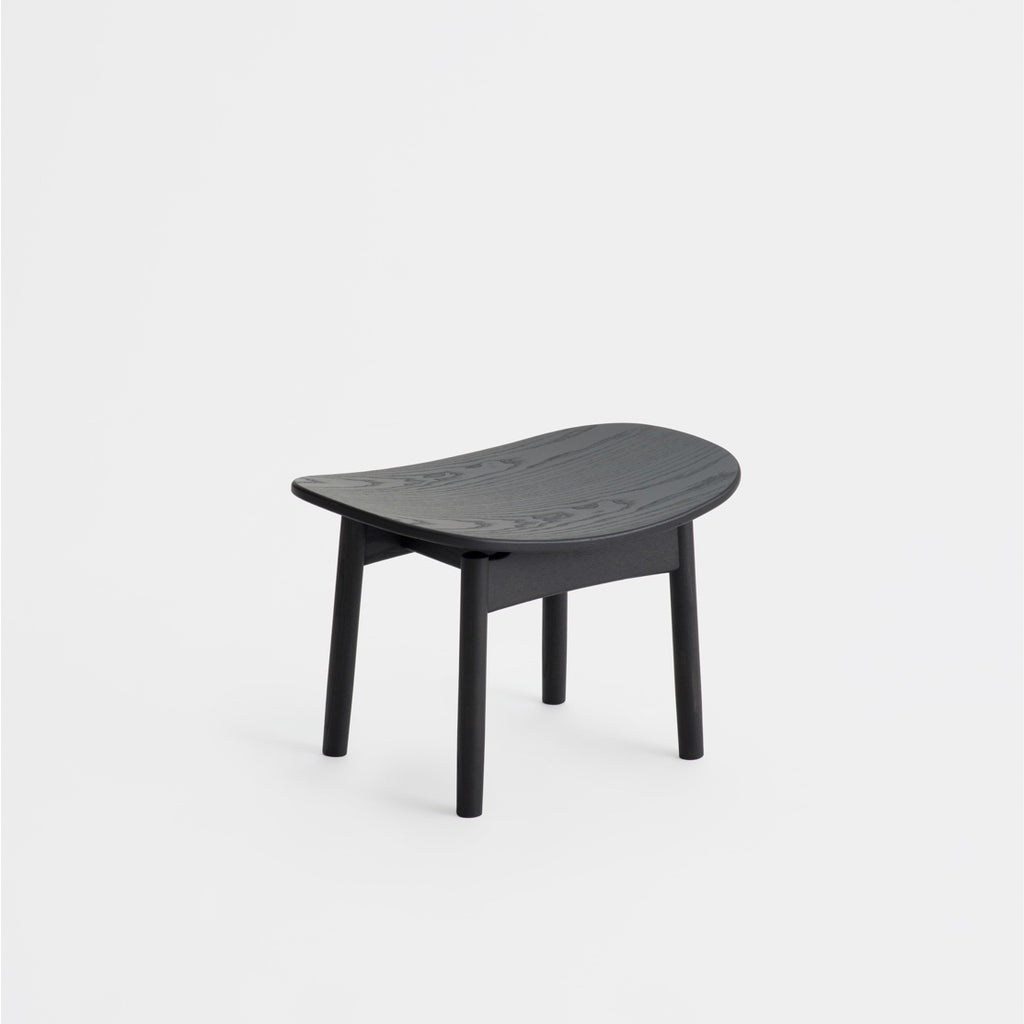 Saga foot stool / Sumi Ash