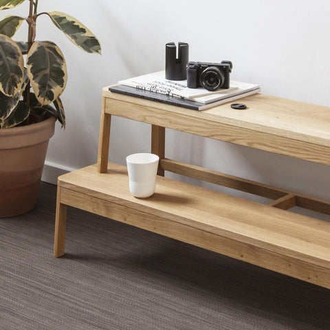 Arise Bench / Natural Oak