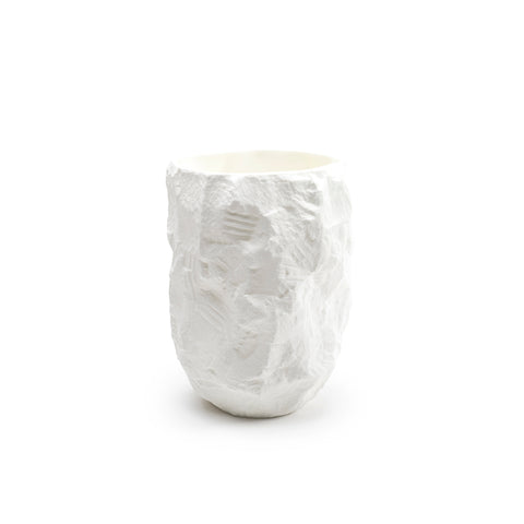 Crockery Series / Tall Vase / White