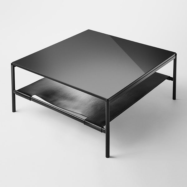 Mies Lounge Table / Glass, Marble or Oak Veneer
