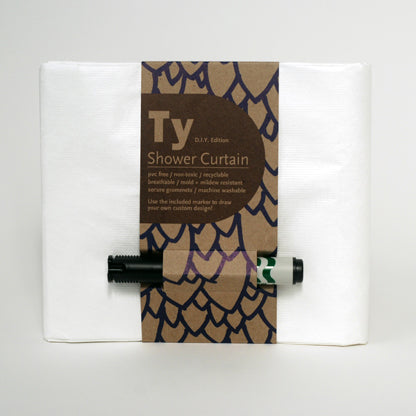 Grain / Ty D.I.Y. Edition Shower Curtain
