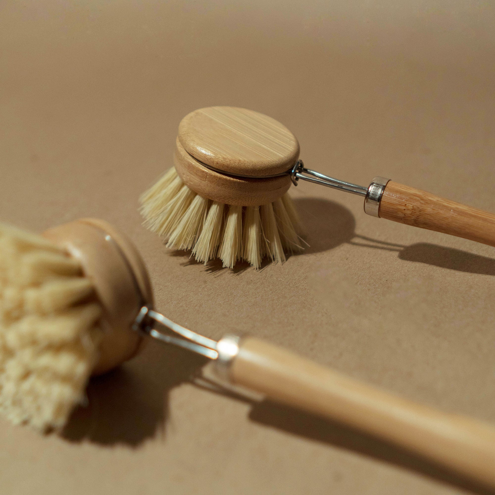 coconut coir dish brush