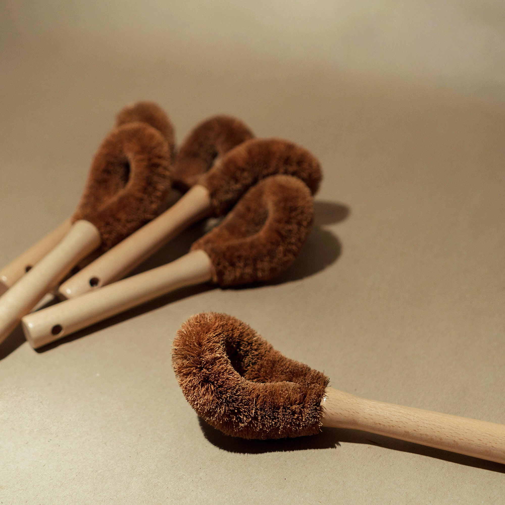coconut coir multipurpose brush