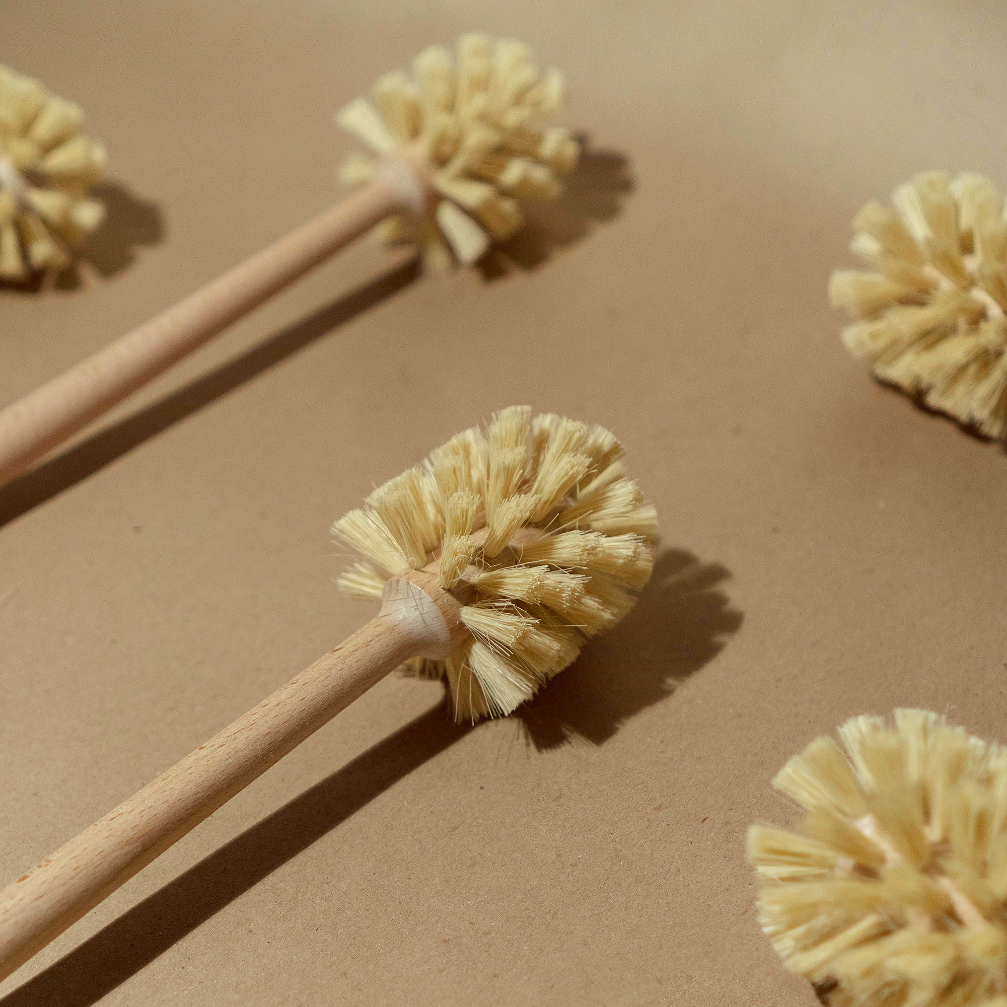 coconut coir toilet brush