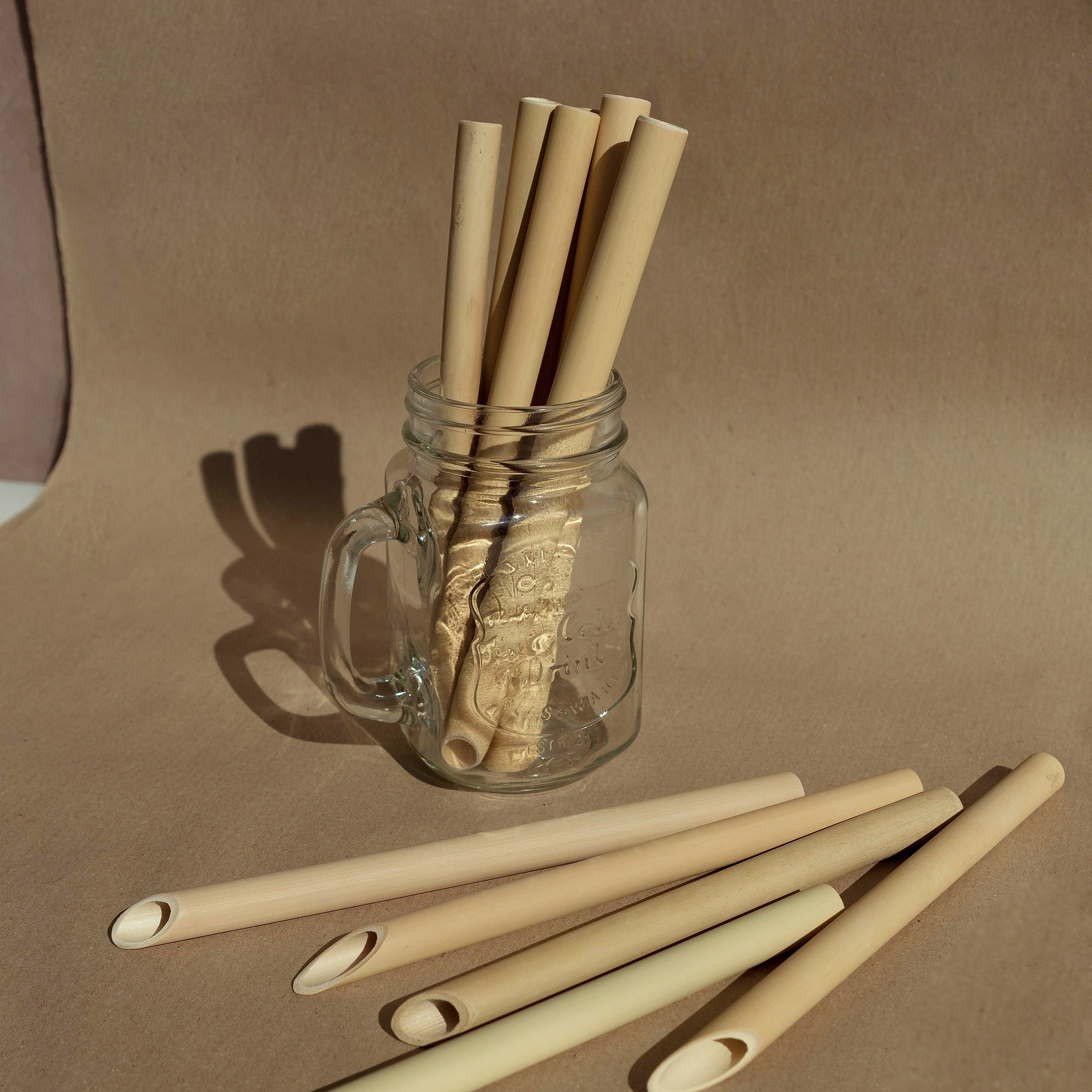bamboo milk tea straw