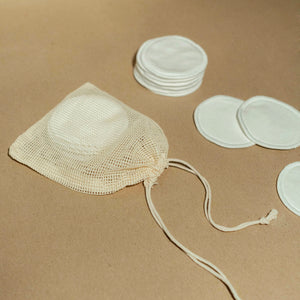 reusable organic cotton rounds