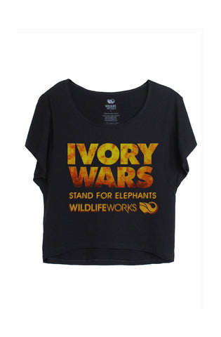 Women's Ivory Wars Boxy Tee - Black
