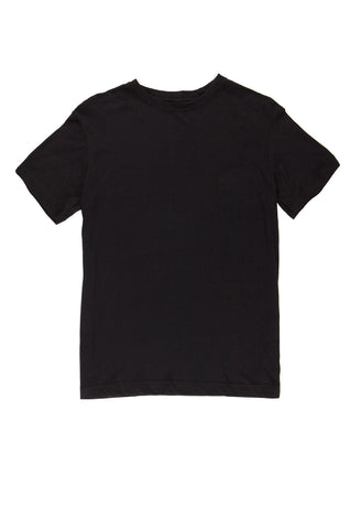 Men's Regular-Fit Crew Neck Tee - Black