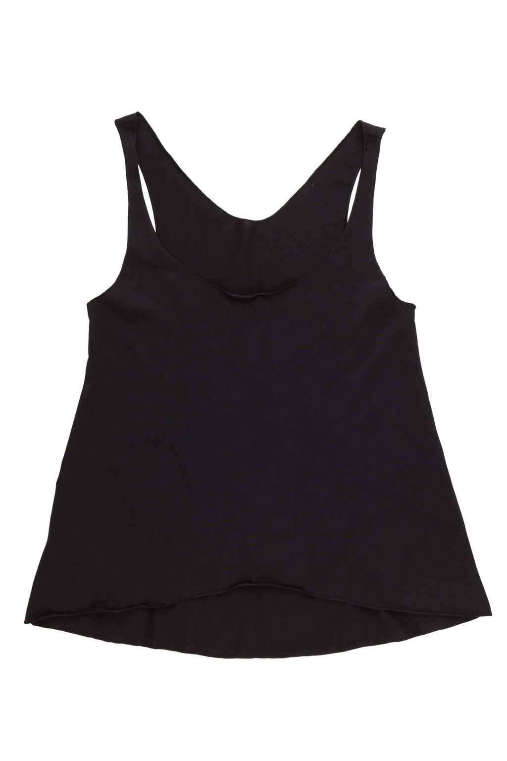 Women's Cropped Tank - Black