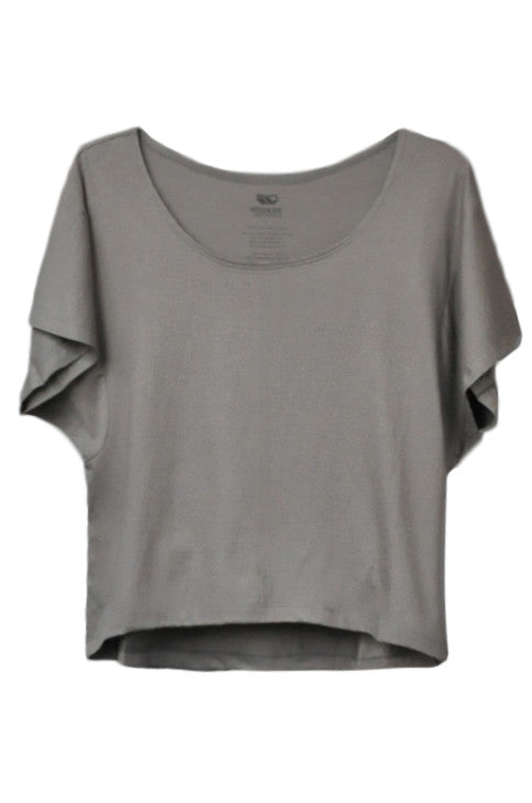 Women's Boxy Tee - Gray