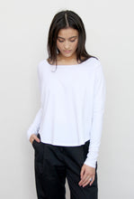 Long Sleeve Raglan Boxy Tee