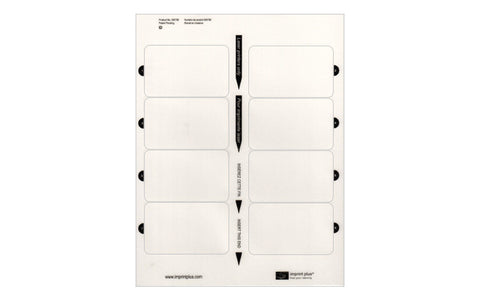 ID Rectangle Insert Sheet 5-Pack