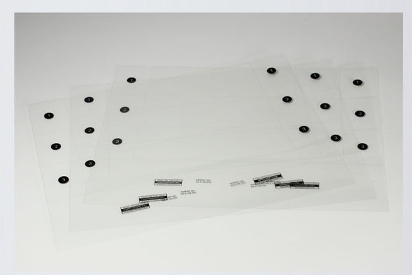 Desk Plate Insert Sheet Pack