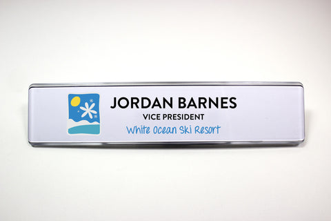 "10 - Unit 2"" x 10"" Contemporary Wall Signage System"