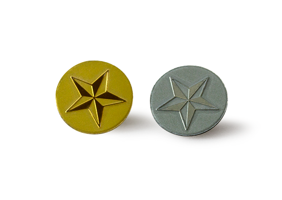 Star Luxe Lapel Pins -100 Pack