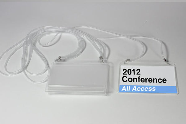 Lanyard Event Badge Kit 3.0x4.0