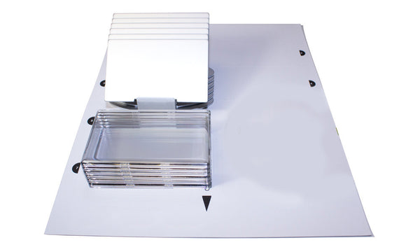 ID Silver Standing Signage Kit - 6-Units